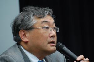 落合洋司弁護士(写真は2月20日、うぐいすリボン主催の講演会にて撮影)