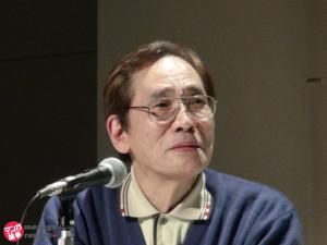 マンガ部門審査委員のみなもと太郎先生。