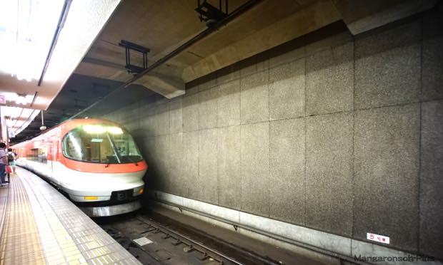 近鉄名古屋駅、そら来た2階じゃない電車♪