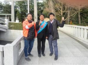 左から、杉野直也コンテンツ文化研究会代表、小泉しゅうすけ氏、ろくでなし子裁判、CG児童ポルノ裁判を担当している山口貴士弁護士。写真は小泉氏HPより。